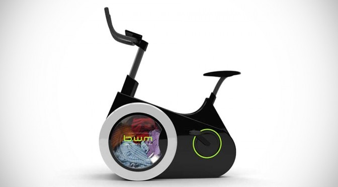 Bike Washing Machine Concept