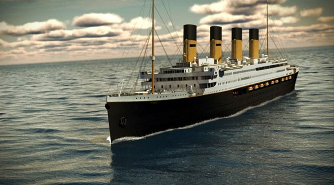 Australian Tycoon's $400 Million Titanic Replica To Set Sail In 2018