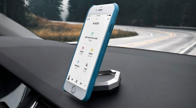 In-car Mount Goes Smart, Allows You To Locate Your Car Using BT And GPS