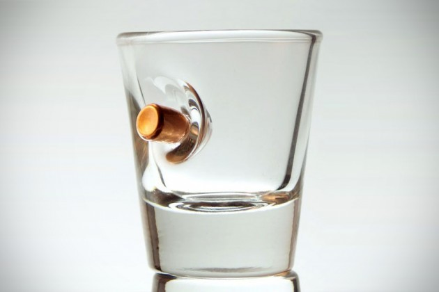 Bulletproof Shot Glass by BenShot