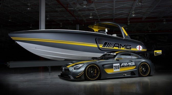 Mercedes-AMG And Cigarette Racing's Latest Collaboration Has 1,100HP