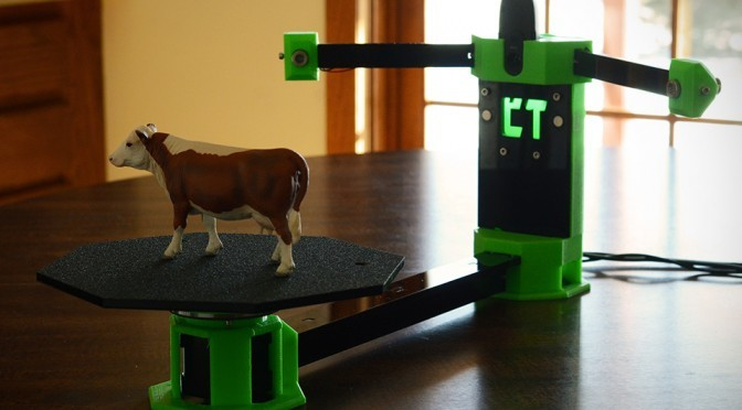 CowTech Ciclop Open Source 3D Scanner