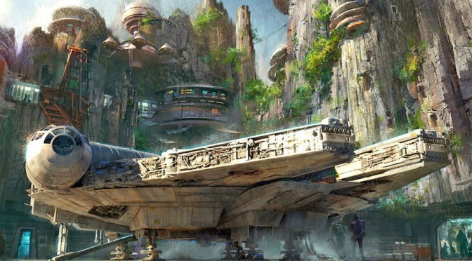 Disney's <em>Star Wars</em> Experience Includes Piloting The Millennium Falcon