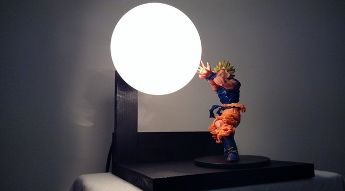 Custom Dragon Ball Z Lamp With Light-up Spirit Bomb Is Oddly Captivating