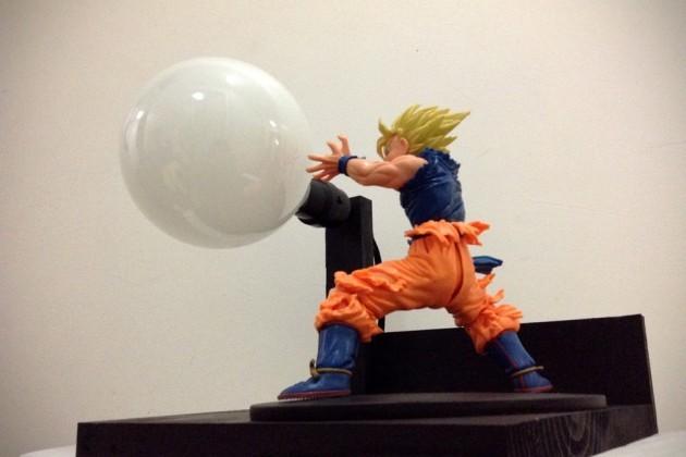 Dragon Ball Z Spirit Bomb Lamps by LitUpInteriorDesign