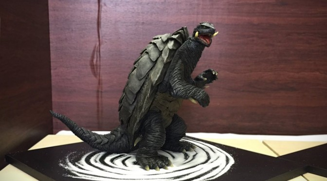 Japanese Confectionery Student Created A Highly Detailed, Edible Gamera Cake