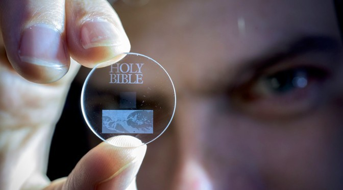 5D Optical Data Disc by University of Southampton