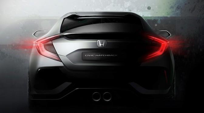 Honda 5-Door Civic Hatchback Prototype at Geneva Motor Show