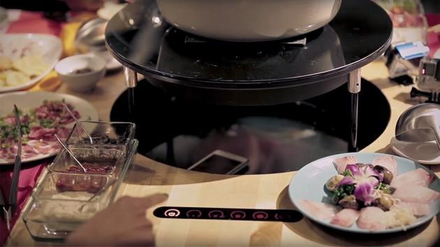 Ikea Taiwan's Anti-phone Dining Table