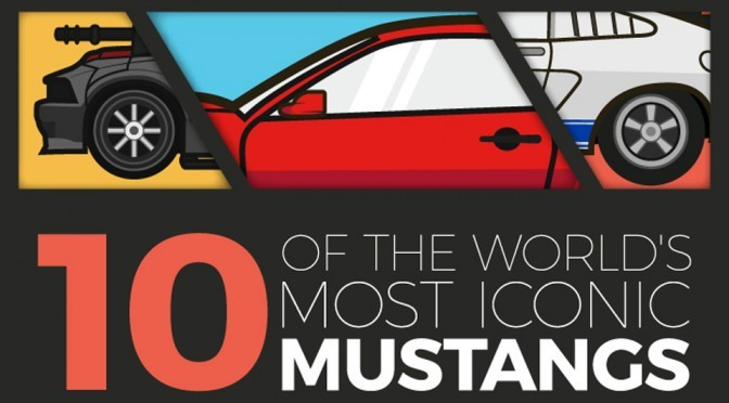 Infographic: Cinematic History of The Shelby Mustang
