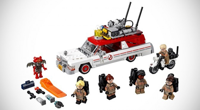 Official Pics Of The New Ghostbusters LEGO Set May Contain Movie Spoilers