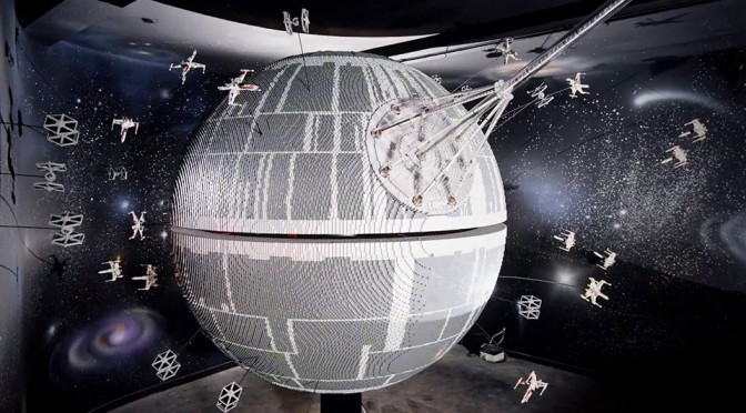 Legoland Windsor Gets Ginormous 500,000 Bricks LEGO Death Star