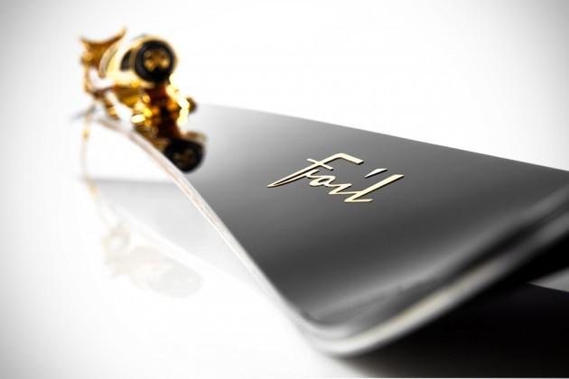 Luxury Skis by Foil Skis Oro-Nero