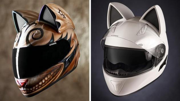 Neko Helmets by Nitrinos motostudio