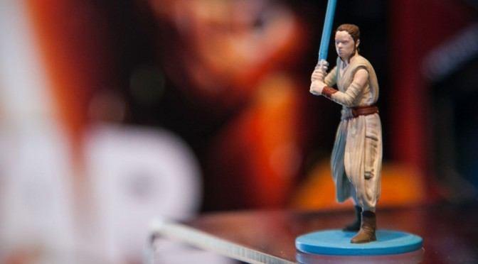 New Edition Monopoly: Star Wars' Rey Figure Unveiled At New York Toy Fair