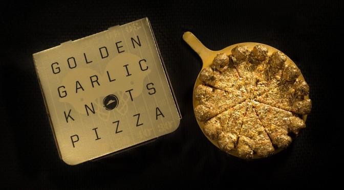 Pizza Hut Golden Garlic Knots Pizza