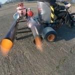British Garage Inventor Creates A Fire-spewing Pulse Jet Powered Drift Trike