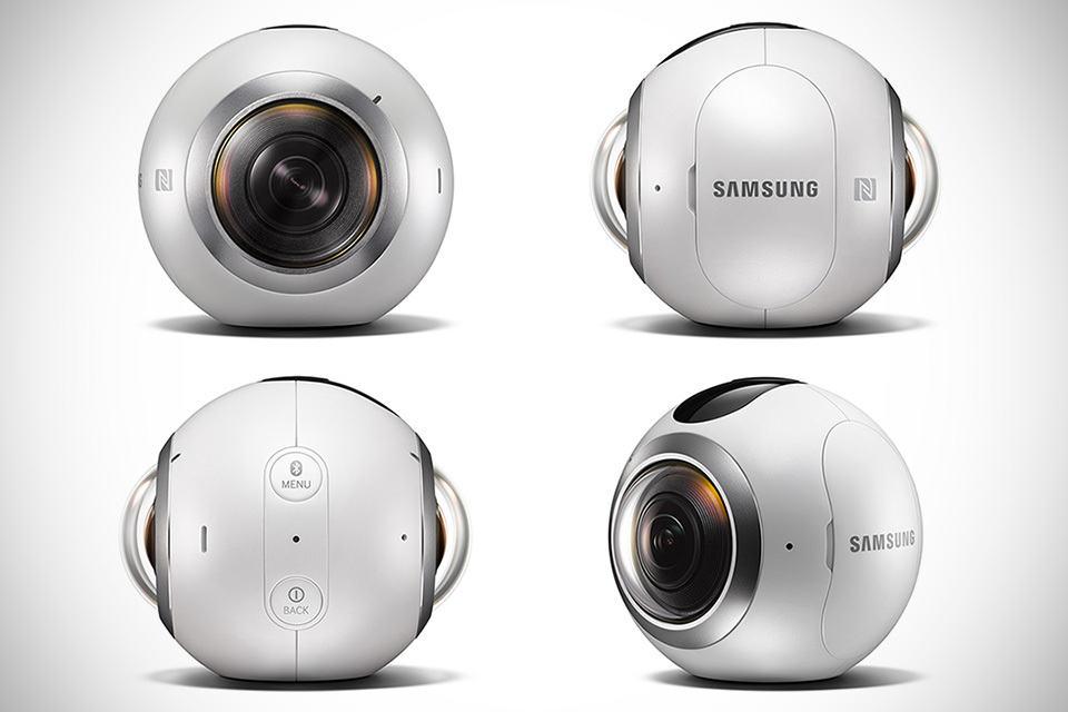 samsung joins the 360 degree camera market with sleek. Black Bedroom Furniture Sets. Home Design Ideas