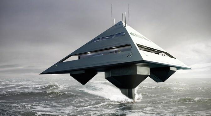 Schwinge Tetra Concept Super Yacht by Jonathan Schwinge
