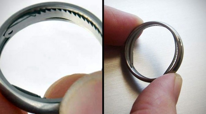 Shomer-Tec Titanium Escape Ring Could Save You From Embarrassing Kinky Bed Situations