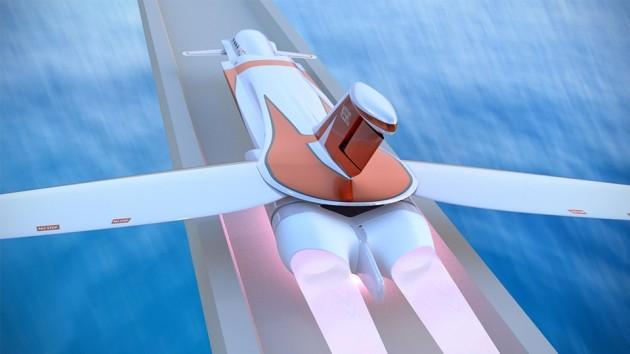 Skreemr Supersonic Jet