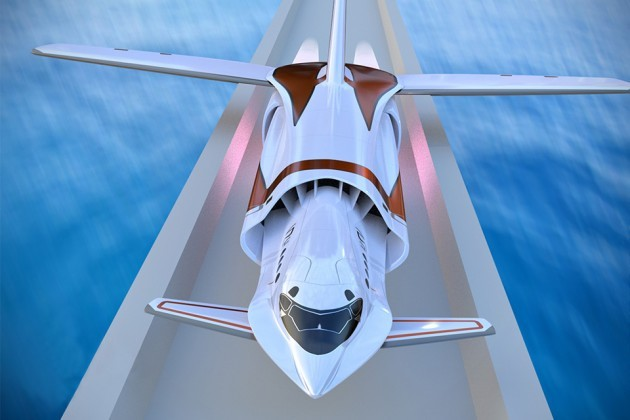Skreemr Supersonic Jet