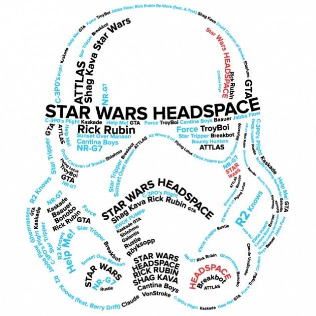 Star Wars Headspace Electronic Dance Album