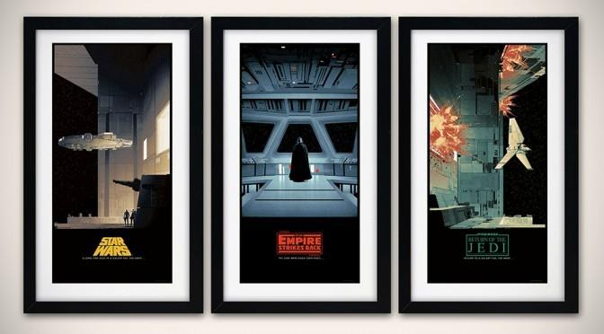 Matt Ferguson's <em>Star Wars</em> Posters Turn Classic Into Classy