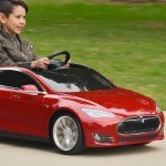 Radio Flyer's Tesla Model S For Kids Charges Like The Real Thing