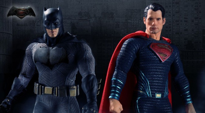 "Mezco Unveils ""Collector-grade"" Batman V Superman Action Figures"