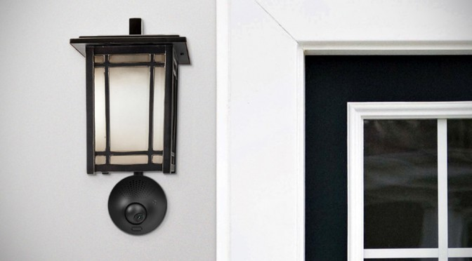 This Ingenious Outdoor Security System Is Powered By Your Porch Light
