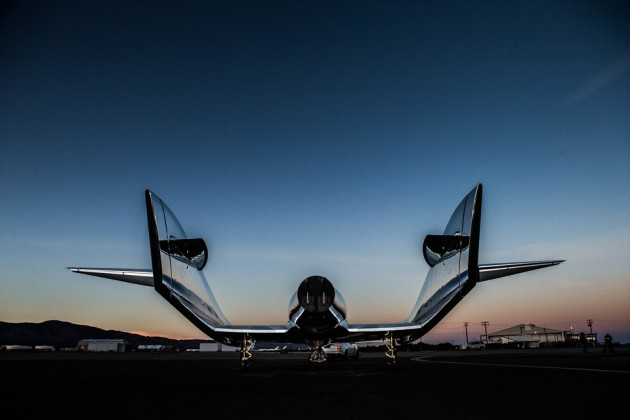 Virgin Galactic VSS Unity SpaceShip Two Unveiled