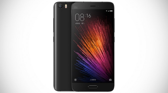 Xiaomi Mi 5 Smartphone Unveiled, Packs Some Serious Flagship Features