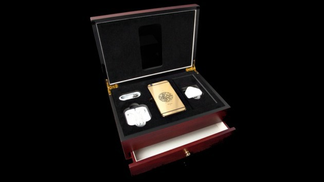 """""""Year of the Monkey"""" 24K Gold iPhone 6s Elite by Goldgenie"""