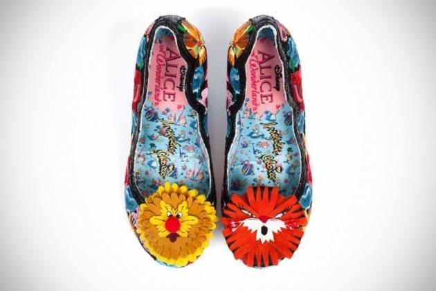 Alice in Wonderland x Irregular Choice Flowers Can't Talk