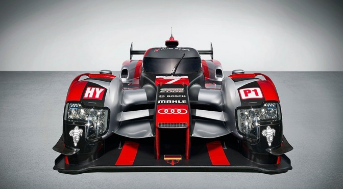 All-new 2016 Audi R18 LMP1 Race Car
