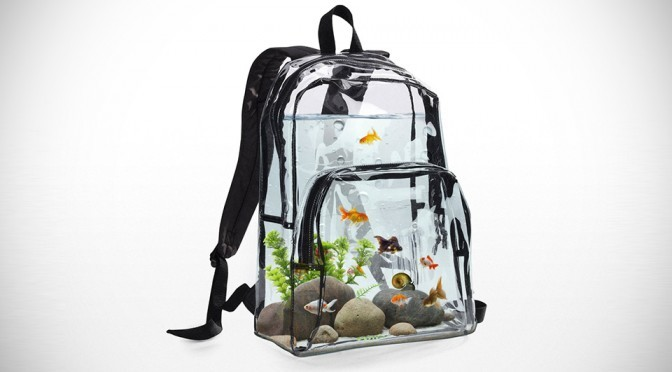 Aquarium Backpack by UV Production House