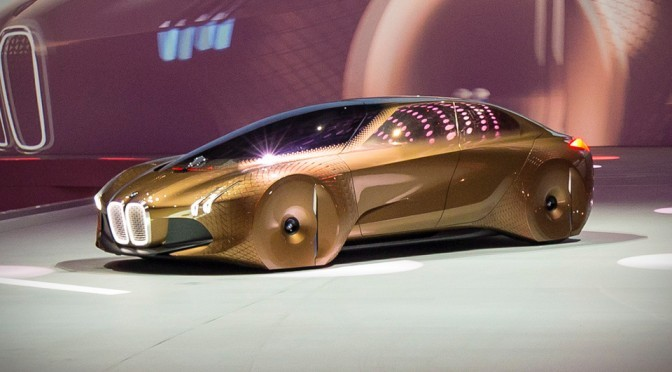 BMW Marks Its 100th Year With An Audacious Electric Concept Car