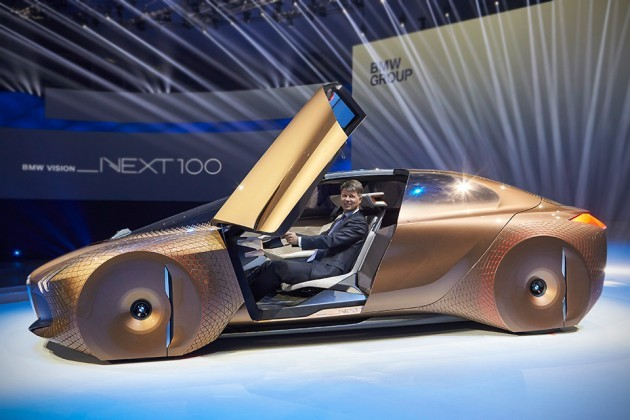 BMW Vision Next 100 Electric Concept Car