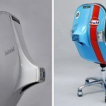 Swivel Chair Made Out Of 80s Vespa Chassis Is Crazy Awesome