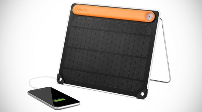 BioLite SolarPanel 5+ Packs 2,200 mAh Battery, Charges Phone In 2 Hours