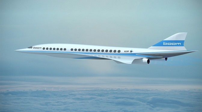 Boom Supersonic Jet Will Fly From London To New York In 3.4H For $5,000