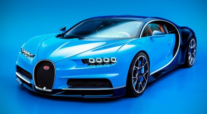 Bugatti Chiron Unveiled, Claimed As The Most Powerful Production Car