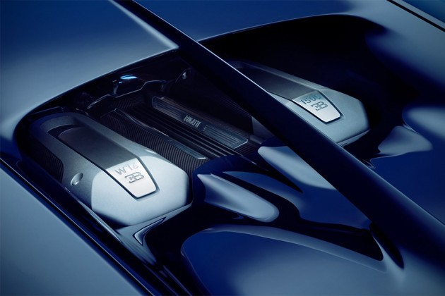 Bugatti Chiron Supercar Unveiled