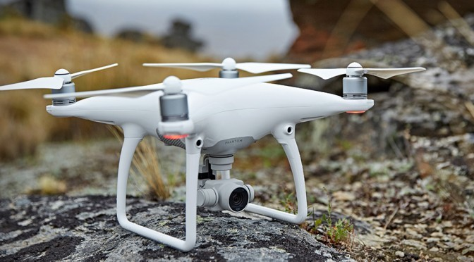 New DJI Phantom 4 Will Fly Itself, Avoid Obstacles And Track Subject