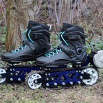 Polish Man Creates Motorized Rollerblades With Off-Road Capability