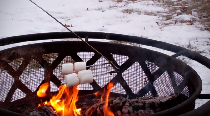 EvenFlip Campfire Cooking Stick