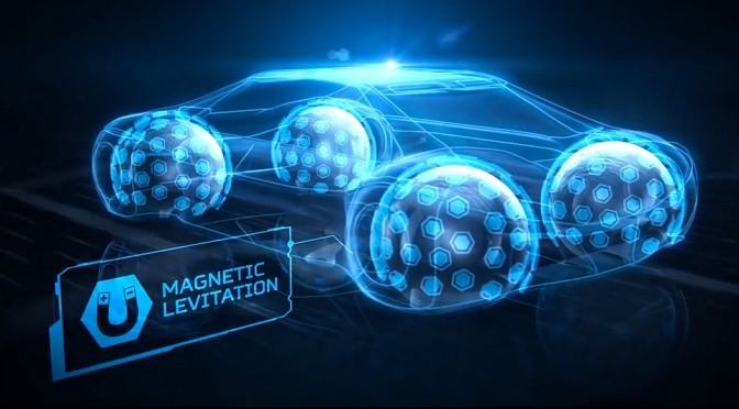 Goodyear Imagines Spherical Tires For Future Autonomous Cars
