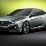 Honda 5-Door Civic Hatchback Prototype Is The Sportiest Civic Ever