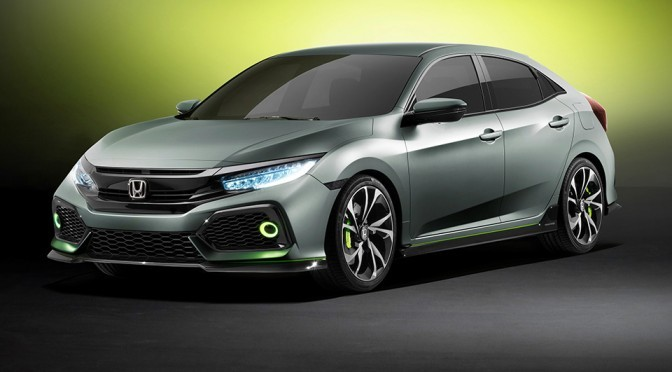 Honda 5-Door Civic Hatchback Prototype Is The Sportiest Civic Ever
